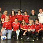 AG 2020: Remise de maillots à nos féminines par le comité départemental des médaillés jeunesse et sport du Doubs