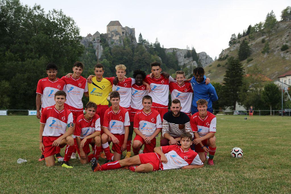 U18 A: Victoire de l'Entente Contre GJ4 villages