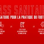 Pass sanitaire obligatoire pour la pratique du football
